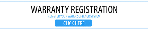 Water Softener Warranty Registration