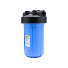"COMBO - Portable Water Softener 16,000 Capacity with 10"" Big Blue Carbon Block 5 micron - 10x18"" LARGE"