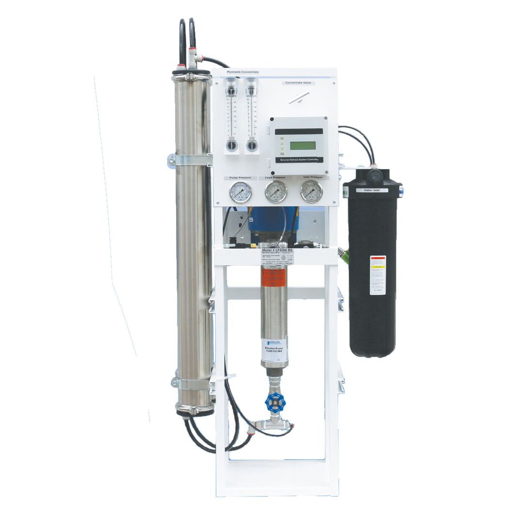 LP Series Commercial Reverse Osmosis Systems - 4,000 GPD