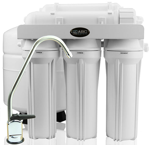 ABCwaters 5-Stage Reverse Osmosis Drinking Water System - 50 GPD RO