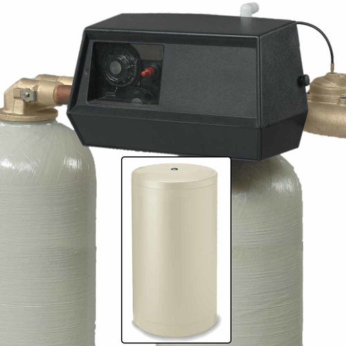 ABCwaters built Fleck 9000 Twin Tank Water Softener System