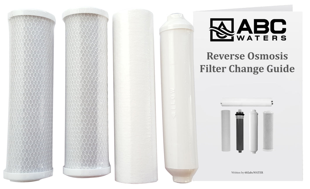 ABCwaters VII replacement filter pack