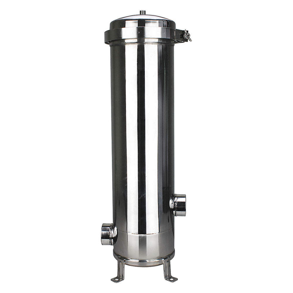 Pentek ESC5202NB410- Multi Cartridge Filter Housing, 304L Stainless Steel, 2