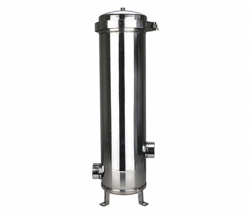 Pentek ESC7202NB6L10 - Multi Cartridge Filter Housing, 316L Stainless Steel, 2