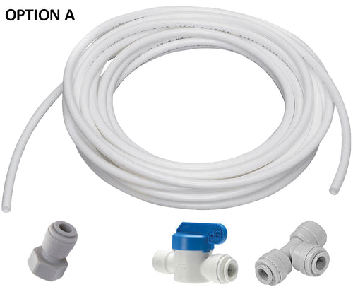 ABCwaters WATER LINE KIT for Connecting a Reverse Osmosis Water System - ¼ inch