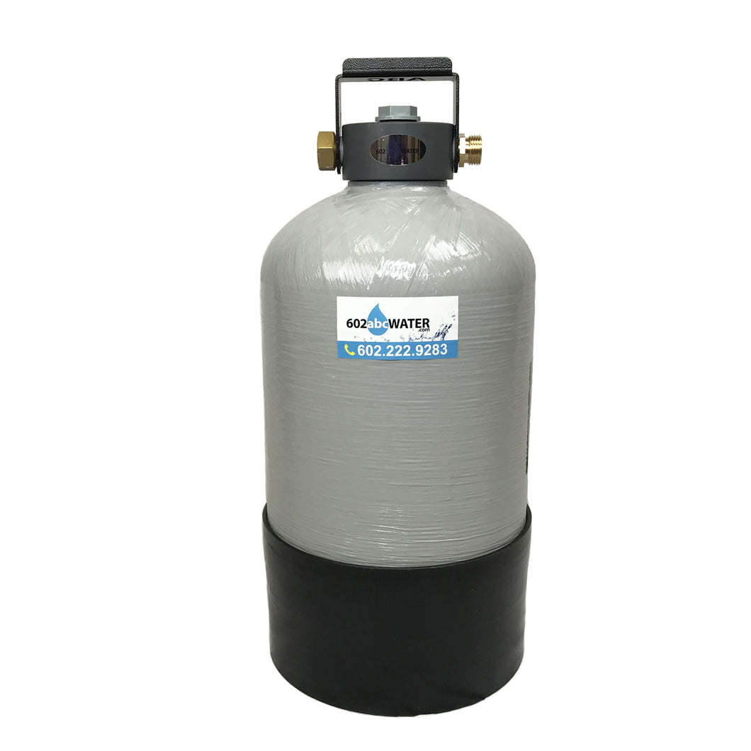 Portable Water Softener 16,000 Grain Capacity, 10x18
