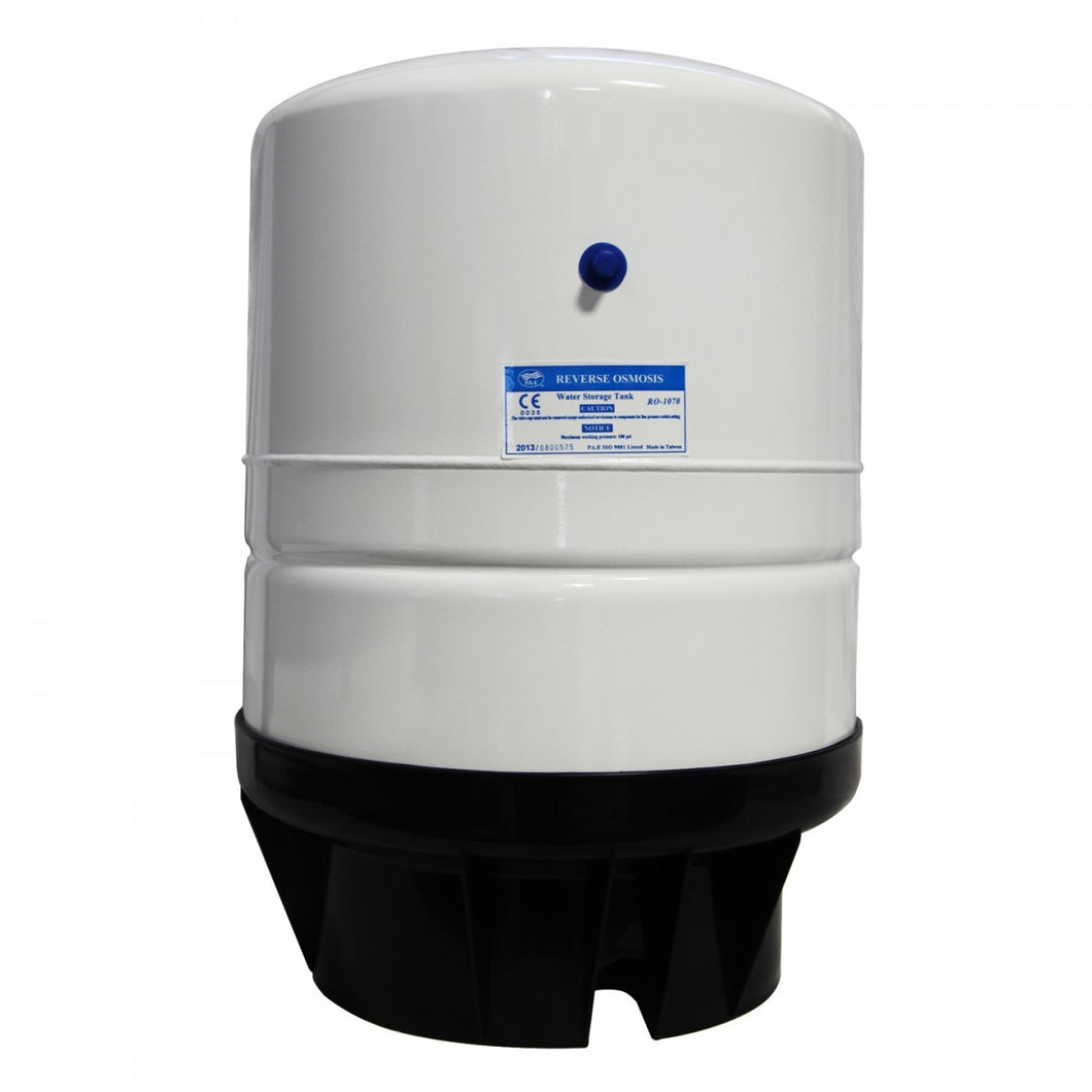 Reverse Osmosis Storage Tank 14 Gallon White