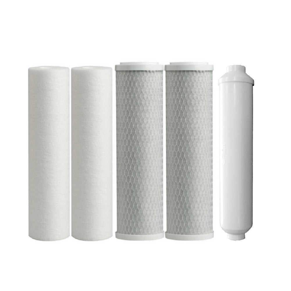 5 Stage Reverse Osmosis Filter Set