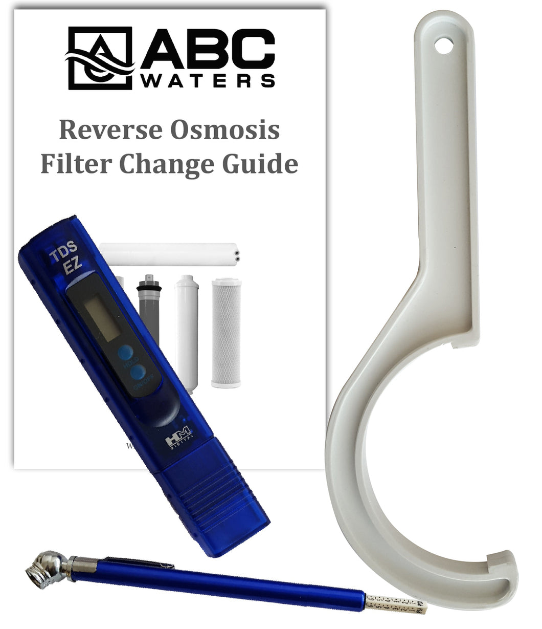 Ultima Reverse Osmosis Filter Change Tool Kit