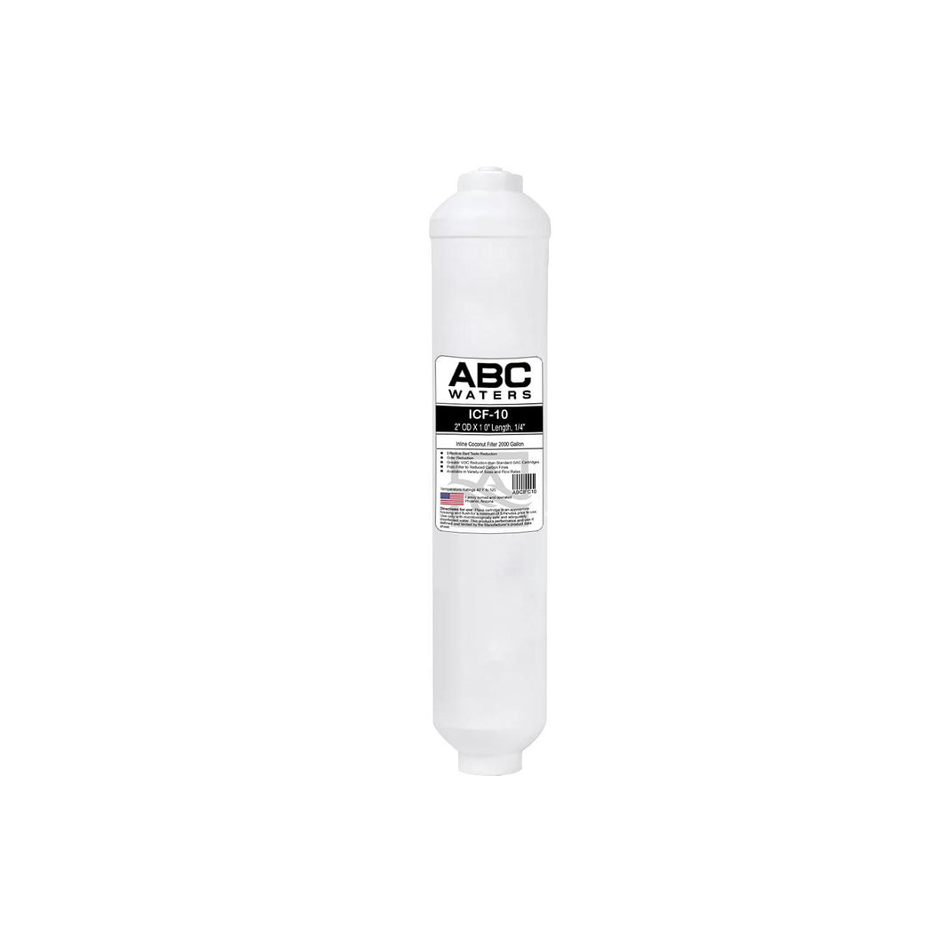 ABCwaters Inline Coconut Filter 2000 Gal, 2