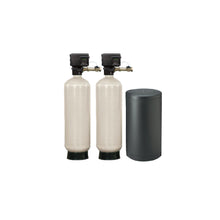 "Commercial 2"" Twin Alternating Water Softener System with Fleck 2900S - 120k to 600k Capacity (peak flow rate: 57 gpm to 140 gpm)"