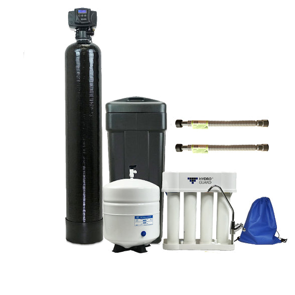 ABCwaters built Fleck 5600sxt Water Softener and 4 Stage Twist RO System
