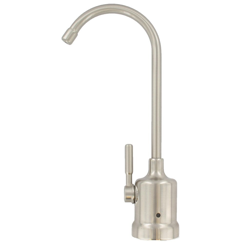 ABCwaters Top Mount Air Gap Faucet Brushed Nickel – 602abcWATER