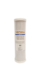 "Ultima 10"" Reverse Osmosis Carbon Block Water Filter 5 Micron"