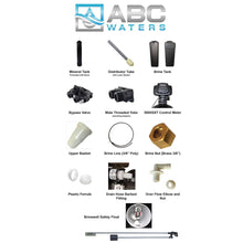 ABCwaters Built Fleck 5600SXT Water Softener and Filtration System