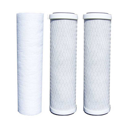 ABCwaters RO Carbon and Sediment Filters 5-Stage Reverse Osmosis Replacement Filter Kit