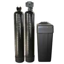 The Ultimate Home Water Filtration System - Fleck 5600sxt Water Softener + Upflow Carbon + 75 gpd Drinking Water RO + Water Connectors + Ice line Connectors