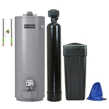 ABCwaters Built Fleck 5600SXT Water Softener Combo with 50 Gallon Gas Water Heater by Lochinvar