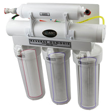 ABCwaters Built Fleck 2510 Mechanical Water Softener Combined with a Whole House Upflow Carbon Filter & RO System - Includes Water Conectors & Ice Line Kit