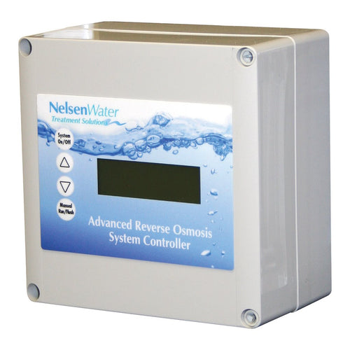 Advanced Controller Box for Commercial Reverse Osmosis with Low Pressure TDS - 5 to 6 Membrane System
