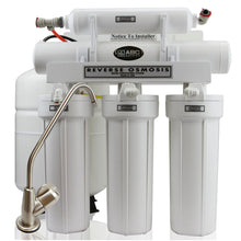 SPACE SAVER MODEL - ABCwaters Built Fleck 5600SXT 48,000 Triple Combo with Upflow Carbon and High Efficient RO - Includes Water Connectors & Ice Line Kit