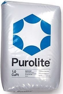 1 cuft. Purolite SST-60 High Efficiency Softening Resin