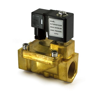 Commercial RO Parts - Solenoid Valve, Brass, 3/4