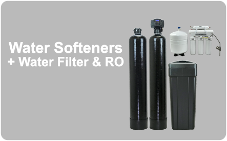 Water Softeners + Water Filter & RO