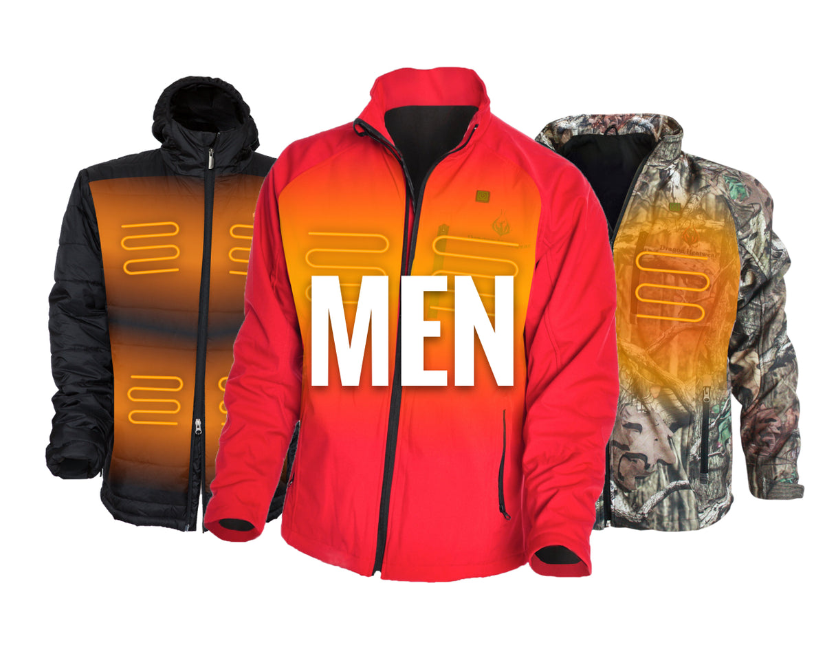 Mens Heated Jackets