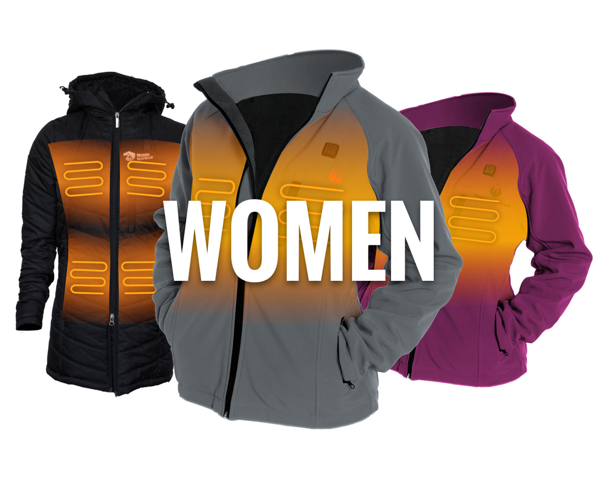 Women's Heated Jackets