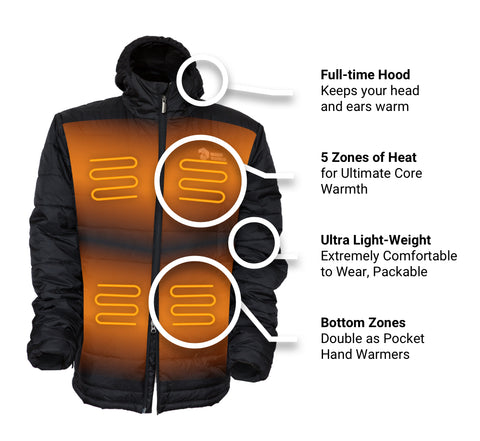 Kaiser Mens Heated Jacket