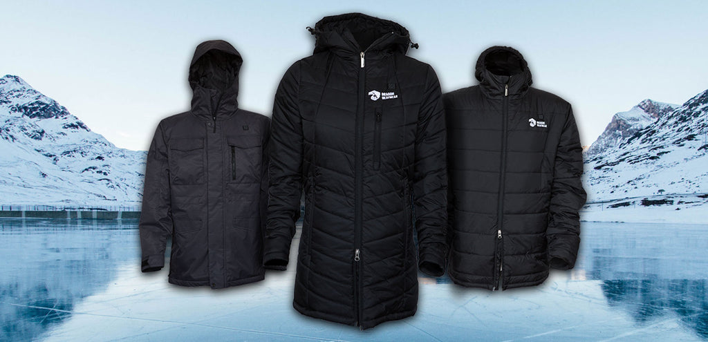 Introducing Heated Puffer and snowboarding jackets