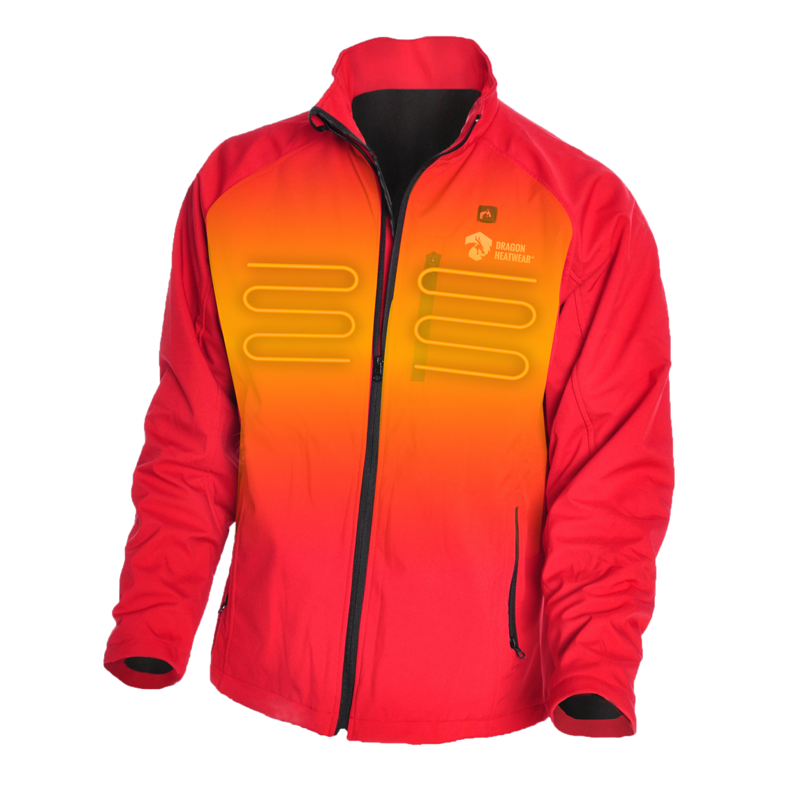 Wyvern Mens 3 Zone Heated Jacket