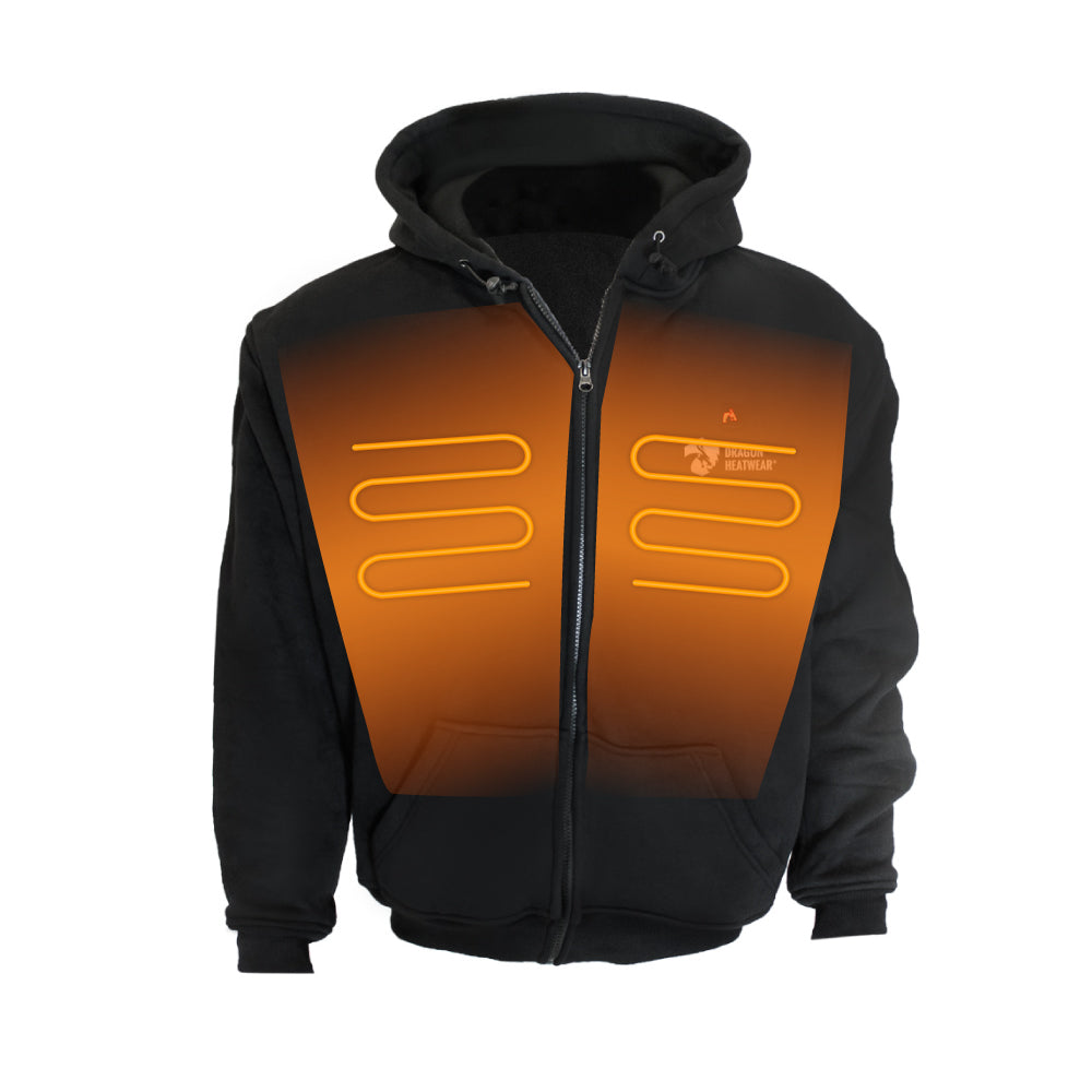 Talon Mens 3 Zone Heated Hoodie