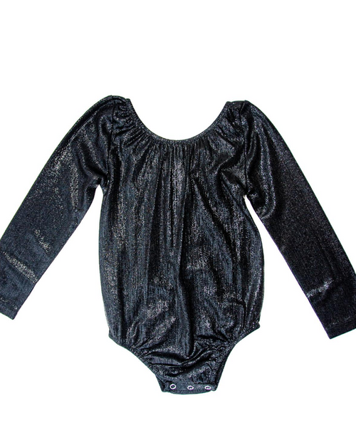 Time to Shine ONYX Long Sleeve Leotard