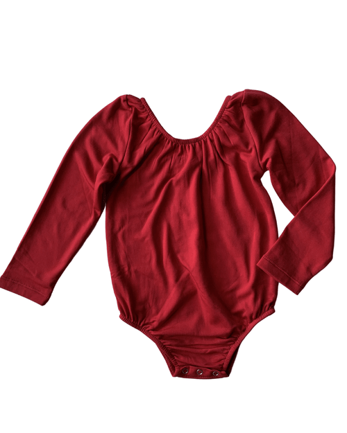 Livee Long Sleeve Fleece Lined Leotards
