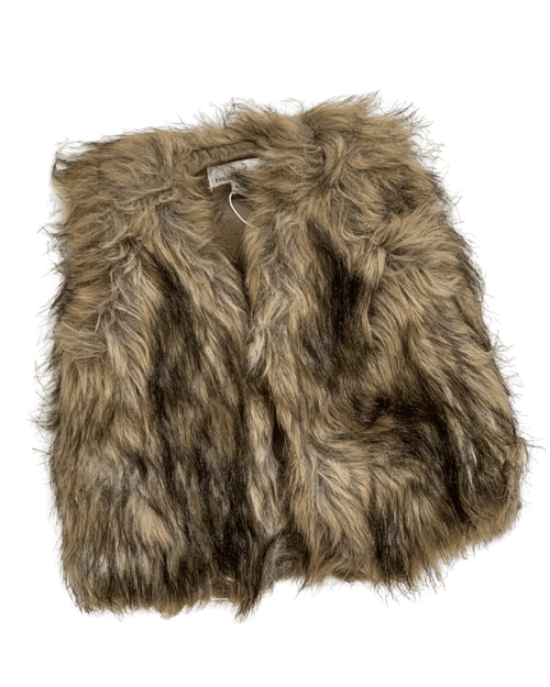 BOHO Brown Fur Vests