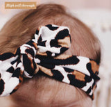 Knot Bow Cheetah Headband