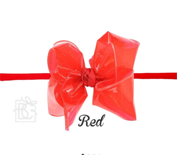 Waterproof Bows w/pantyhose band