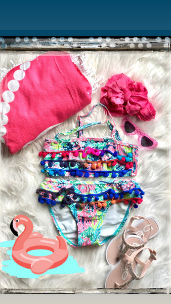 Pom Pom 2 Piece swimsuit
