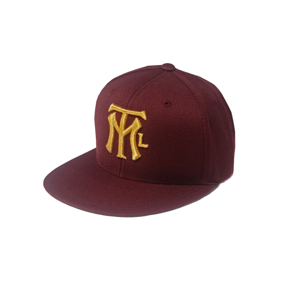MTL LOGO BALL CAP - Burgundy