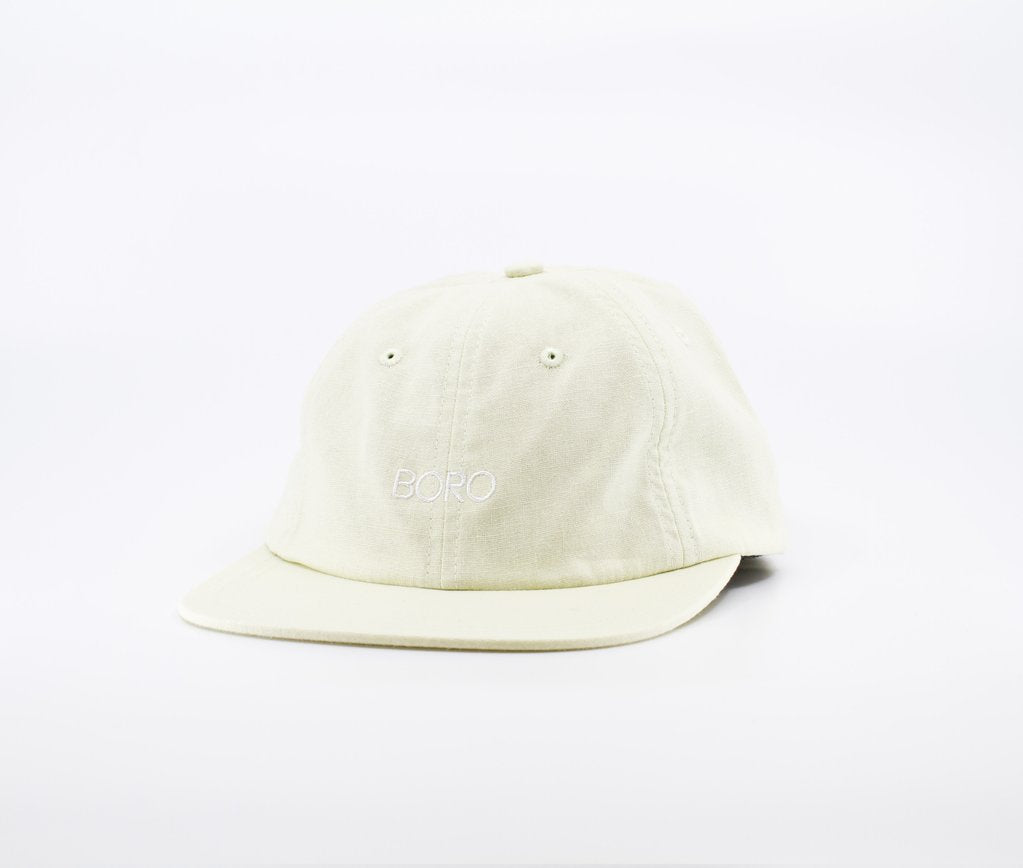 BORO SPELL OUT 6 panel cap - Beige