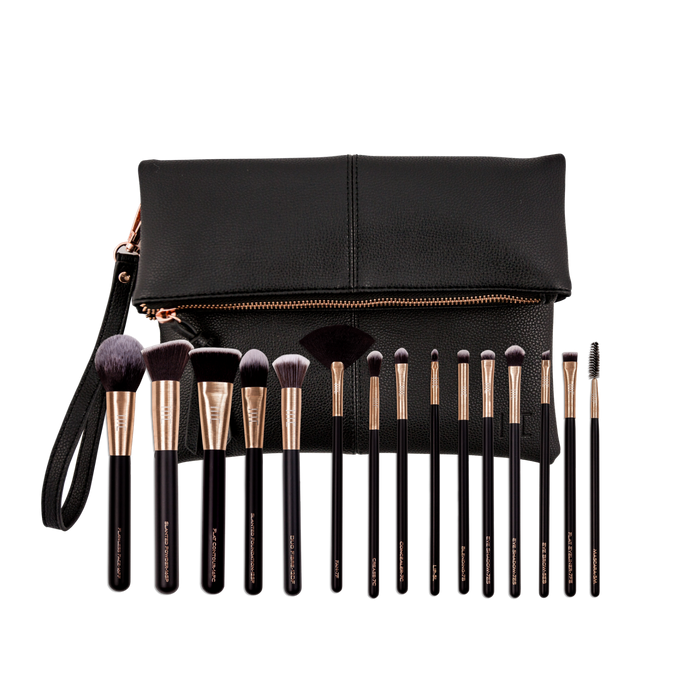 masey cosmetics-essential set-makeup brush set