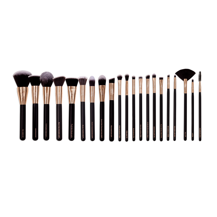 masey cosmetics-complete set-makeup brush set