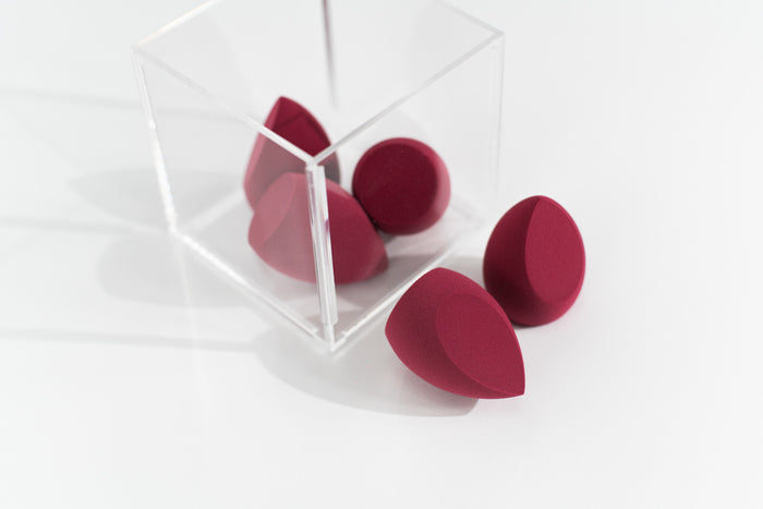 Artiste Makeup Sponge - Red Wine 5 Pk
