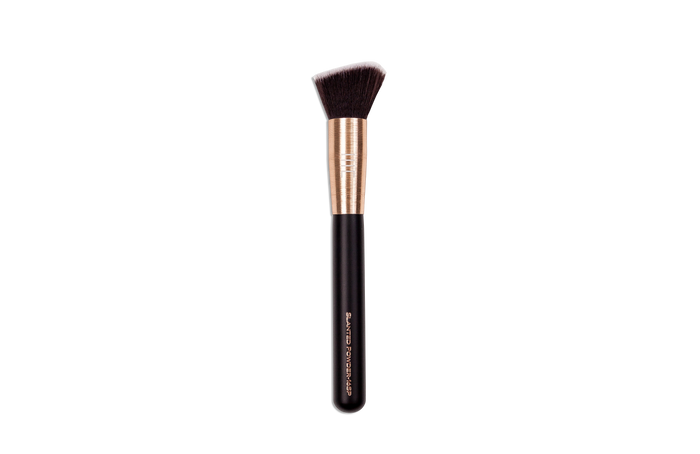 masey cosmetics-slanted powder 16sp-makeup brush