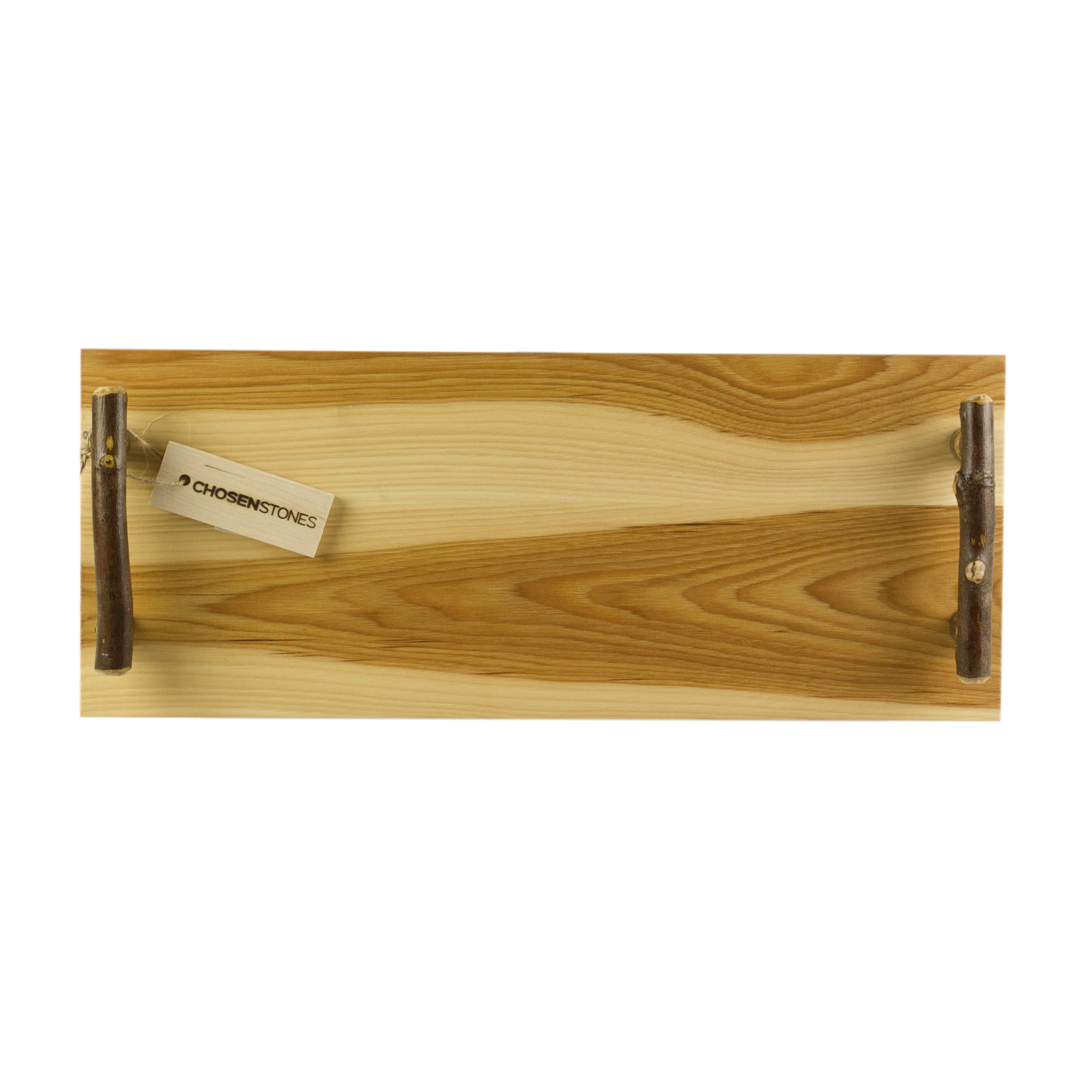 Rustic Hickory Serving Long Board - Serving and Cutting Boards - 20