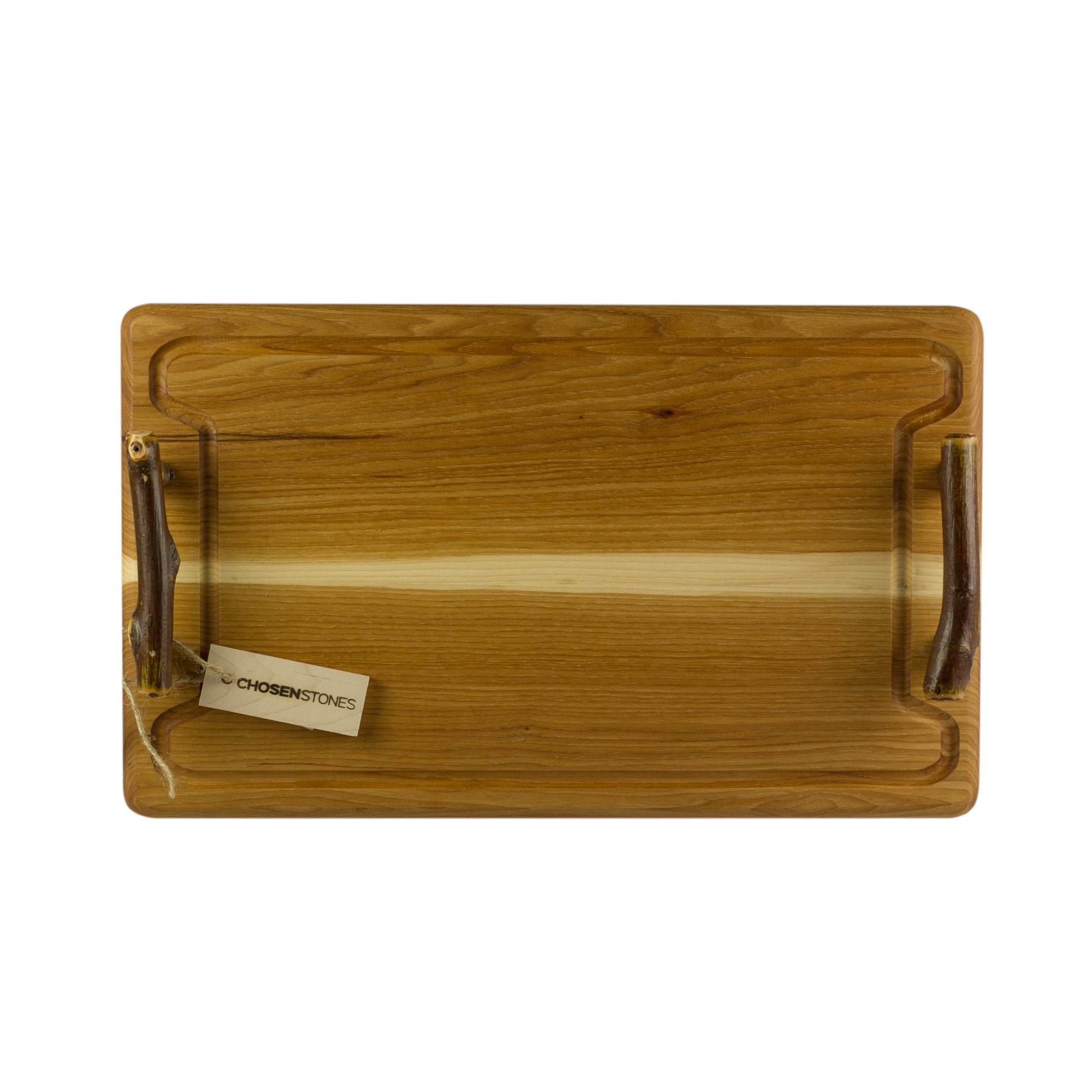 Rustic Hickory Steak and Serving Board - Serving and Cutting Boards - 20