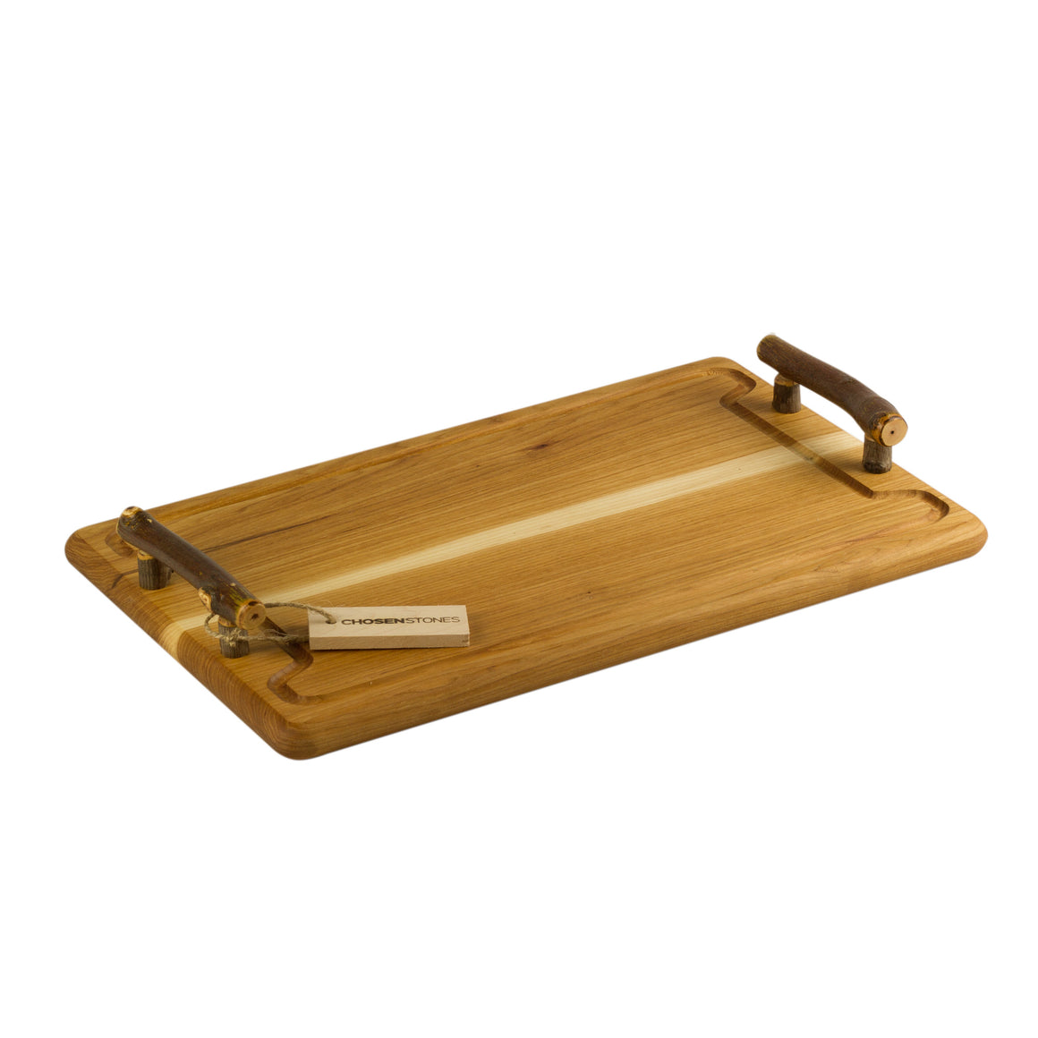 Rustic Hickory Steak and Serving Board