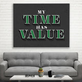 Time = Value